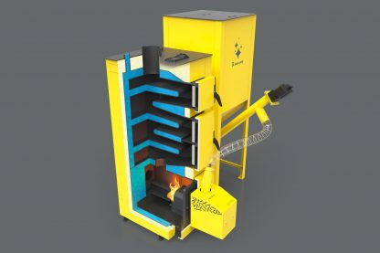 5 klasės granulinis katilas PEREKO QmPell 12 kW