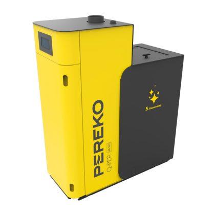 PEREKO katilai, Q PER 46 kW, sijotos anglies granulinis katilas, pramoninis katilas, pramoniniai katilai